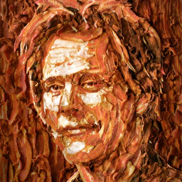 Kevin Bacon Made From Bacon