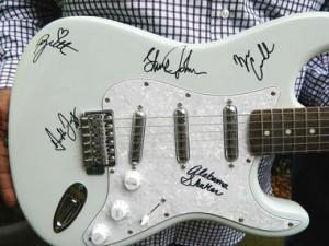Alabama Shakes Autographed Guitar