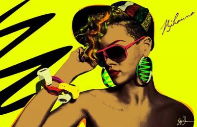Rihanna_by_LeisureLarry990