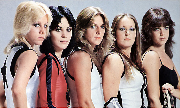 Runaways Joan Jett Sandy West Lita Ford Cherie Currie Jackie Fox