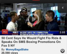 50 Cent Flo Rida Instagram