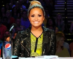 demi lovato, x factor, simon cowell, reality tv, pepsi
