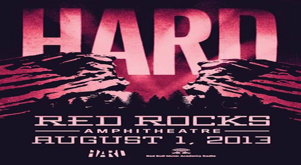 HARD Red Rocks Announces Lineup