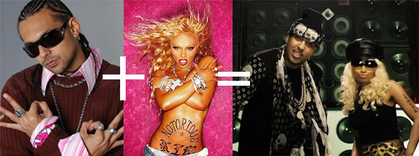 French Montana Nicki Minaj Sean Paul Lil Kim