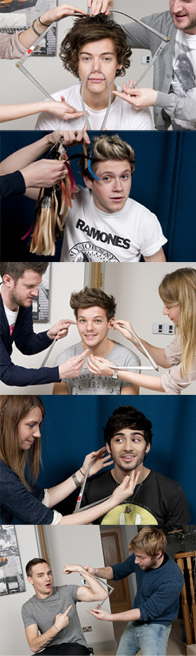 One Direction Madame Tussaud's Wax Figures