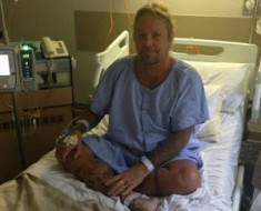 Motley Crue Vince Neil Hospital Bed