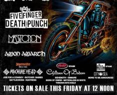 Rockstar Mayhem Festival 2013 Lineup