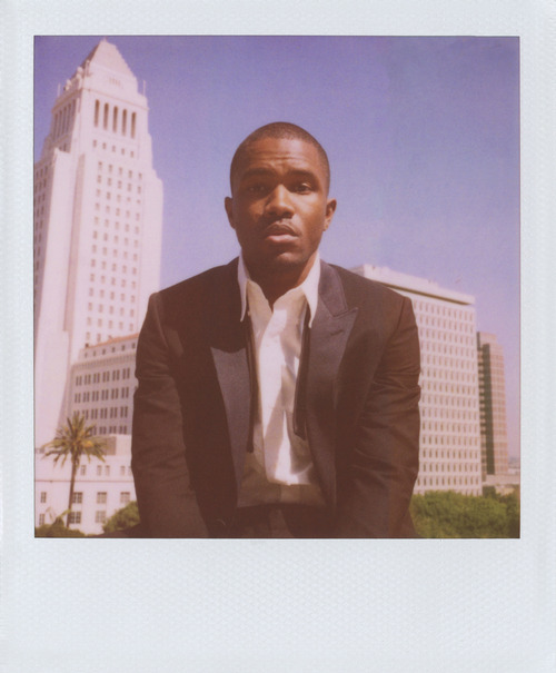 frank ocean, band of outsiders, polaroid, suit