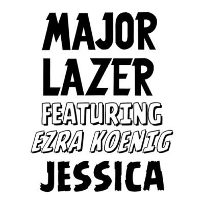 major lazer - jessica