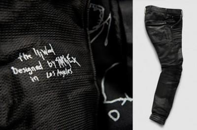 Skrillex Sonny Moore Illwood Custom Jeans