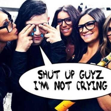Skrillex Sad Crying