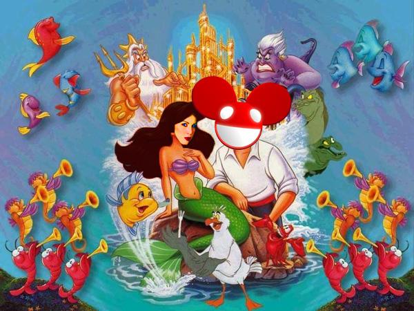 Kat Von D Deadmau5 Underwater Themed Wedding
