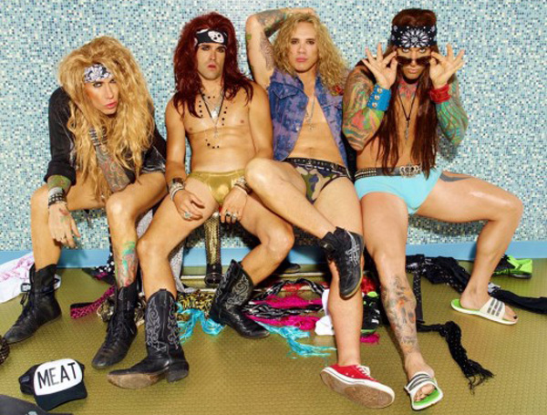 steel panther to play at chadvril s wedding   jamspreader