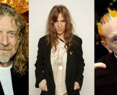 Robert Plant Patti Smith Johnny Rotten