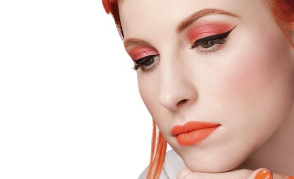 hayley williams, mac, makeup, paramore