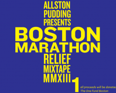 allston pudding, boston marathon, mixtape
