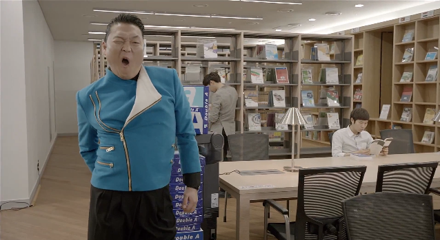 psy, gentleman, music video