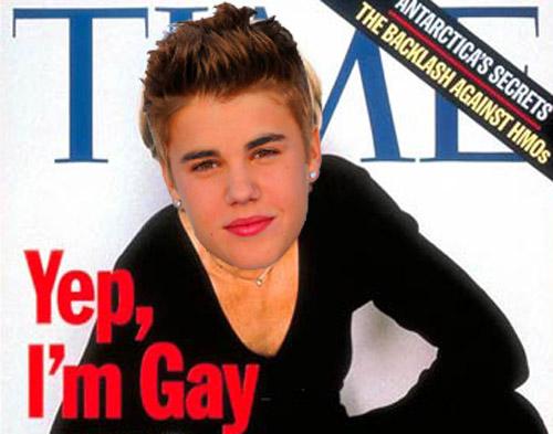 Justin bieber being gay