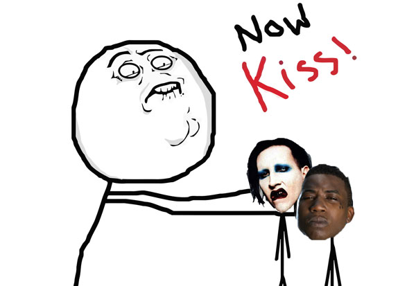 Marilyn Manson Gucci Mane Now Kiss