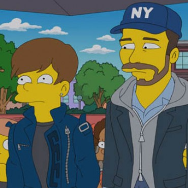 Justin Bieber The Simpsons