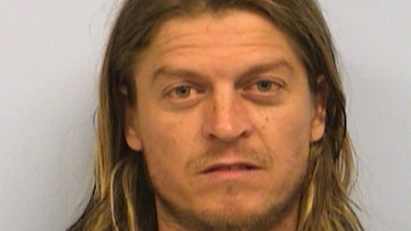 Puddle of Mudd Wes Scantlin Mugshot