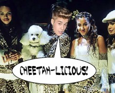 Justin Bieber Cheetah Girls