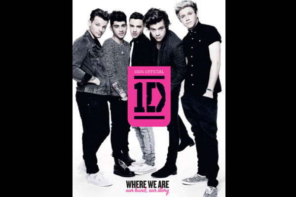 One Direction Where We Are Book Cover