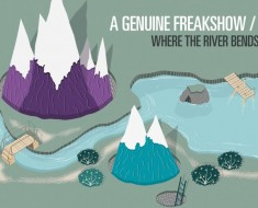 a genuine freakshow, where the river bends, indie, ok! good records