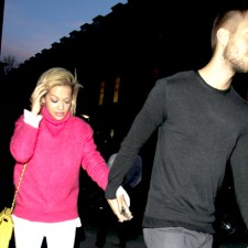 Calvin Harris Steps Out With Rita Ora