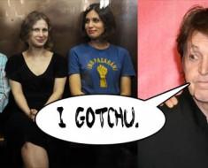 Pussy Riot Paul McCartney