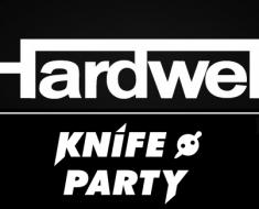 hardwell, knife party, edm