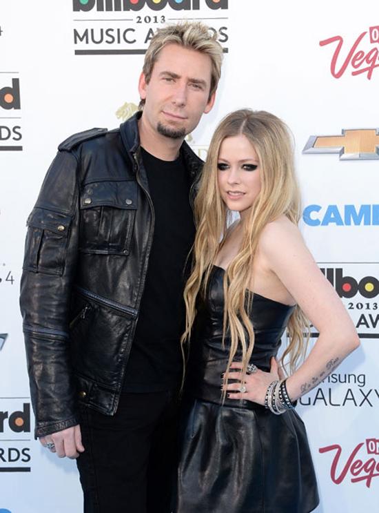 "Chad Kroeger & Avril Lavigne AKA ""Chadvril"": ...no comment."