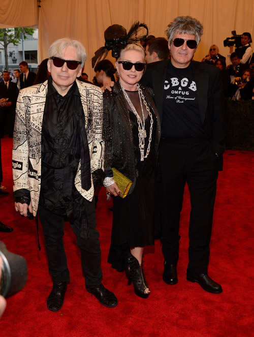 Debbie Harry: ALL HAIL QUEEN BLONDIE! A pioneer of the punk scene, Harry proves that she's still got it at 67 years old.  Rock on, Debbie, rock on.