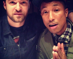 Justin Timberlake Pharell Williams