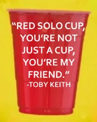 Red Solo Cup Toby Keith