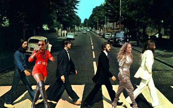 Beatles Abbey Road Jennifer Lopez Mary J. Blige Edit