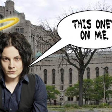 Jack White Saves Detroit Masonic Temple