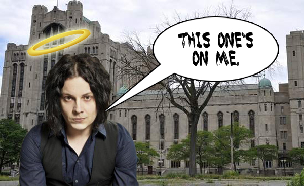 Jack White Saves Detroit Masonic Temple