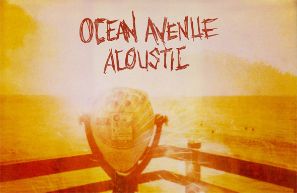 ocean avenue, yellowcard, acoustic