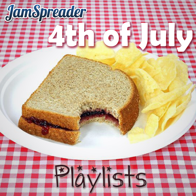 jamspreader 4th of july playlists