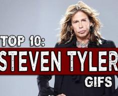Top 10 Steven Tyler Gifs