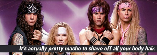 Steel Panther Body Hair
