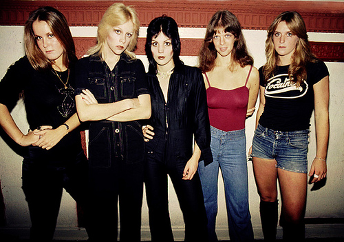 The Runaways Joan Jett Cherie Currie Lita Ford Sandy West Jackie Fox